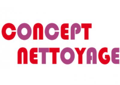 Logo Concept nettoyage