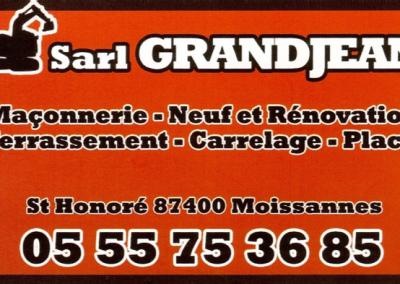 Logo Sarl Grand Jean