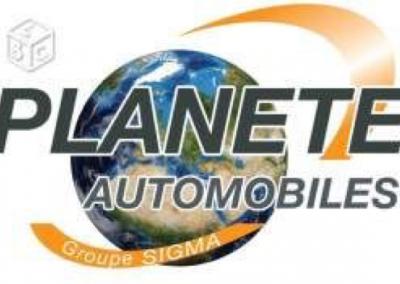 Logo planete automobile