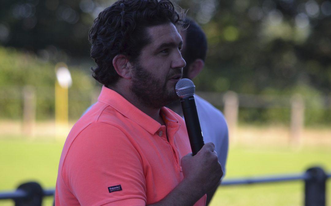 L'interview du nouveau responsable de l'école de rugby